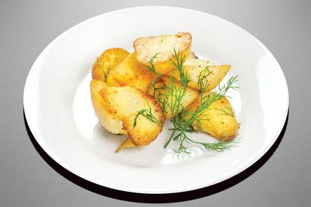 Картофель отварной и обжаренный