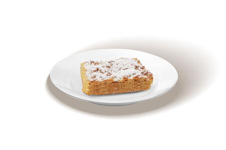Пирожное Песочное апельсиновое