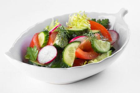 Салат Овощное лукошко