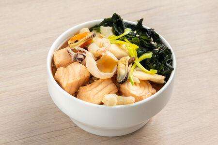 Суп Острый с морепродуктами