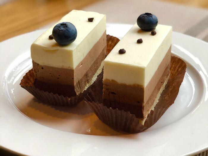 Трио шоколадный