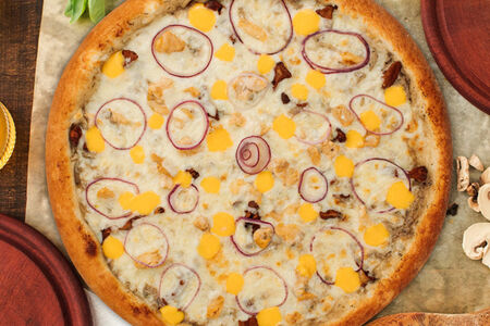 Пицца Жюльен с курицей