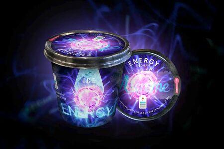 Мороженое в стаканчике Energy Ice