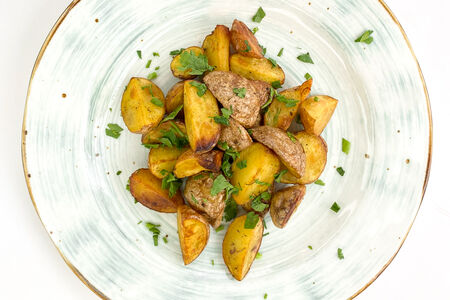 Запеченный мини картофель