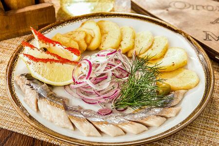 Балтийская сельдь с картофелем