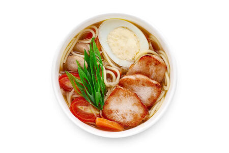 Суп Рамен с курицей