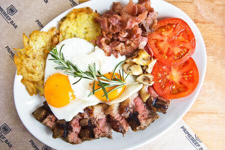 Завтрак мясника