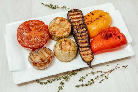 Овощи на гриле
