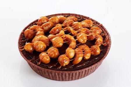 Пирожное Панье с орехами в карамели