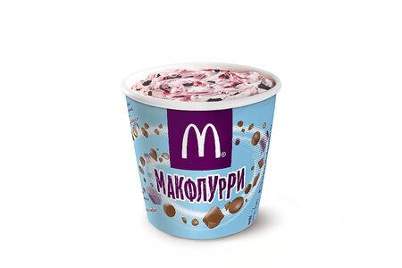 Макфлурри Клубнично-Шоколадное