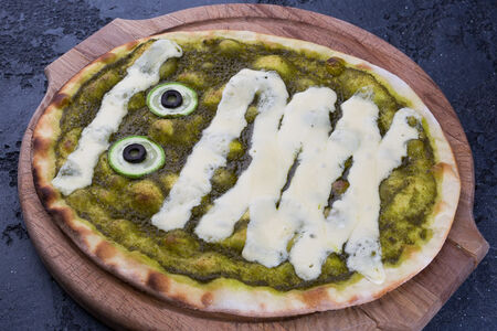 Пицца Зеленая мумия