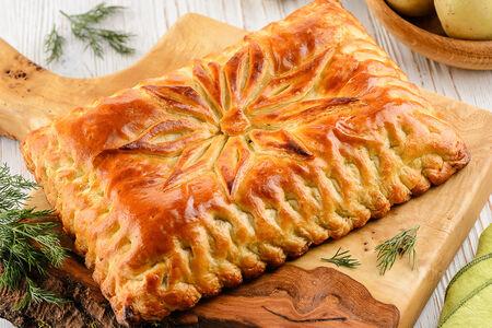 Пирог с телятиной и картофелем