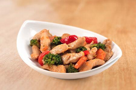 Курица тэрияки с овощами