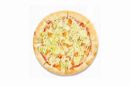 Пицца Цезарь на томате