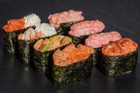 Сет Гункан суши