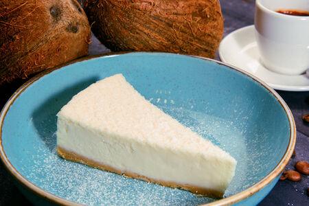 Чизкейк кокосовый