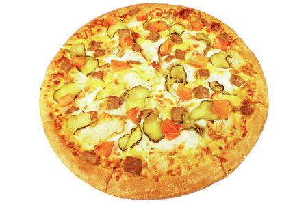 Восточная пицца