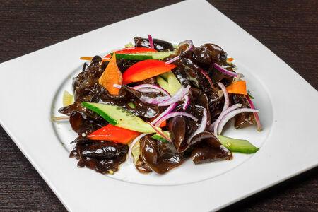 Салат из чёрного гриба