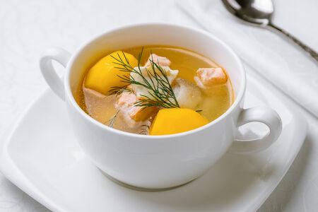 Суп Юшка рыбацкая