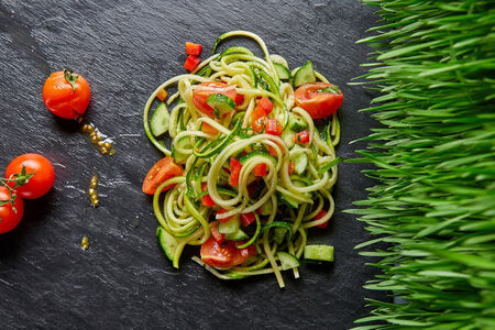 Салат Спагетти из цукини