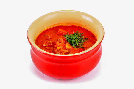 Деревенский суп-гуляш
