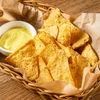 Фото к позиции меню Начос с сырным соусом