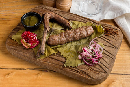 Кабаби из свинины и говядины