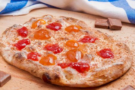 Пицца с джемом