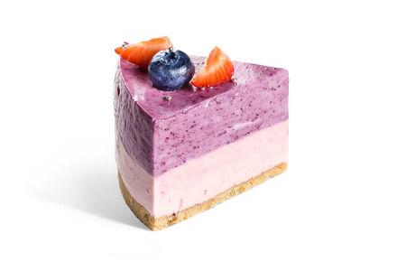Торт чернично-малиновый RAW-CAKE