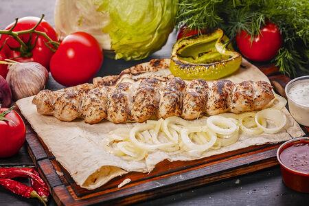 Кебаб из курицы и свинины