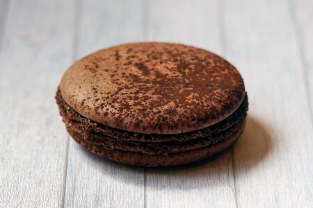 Макарон Шоколад