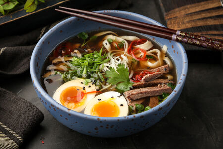 Пряный суп Рамен