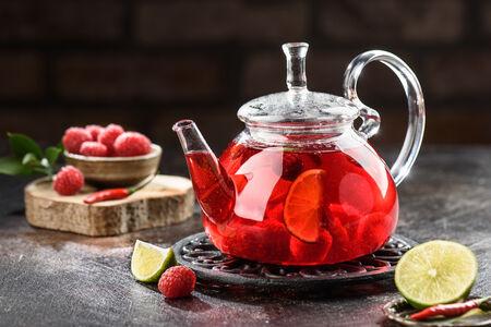 Чай Малина с чили