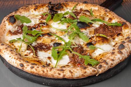 Пицца с говядиной барбекю