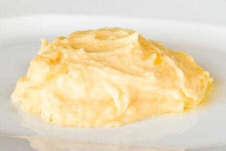 Картофельное пюре с трюфельным маслом