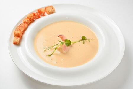 Крем-суп Сырный с креветками