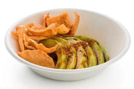 Салат Авокадо в паприке