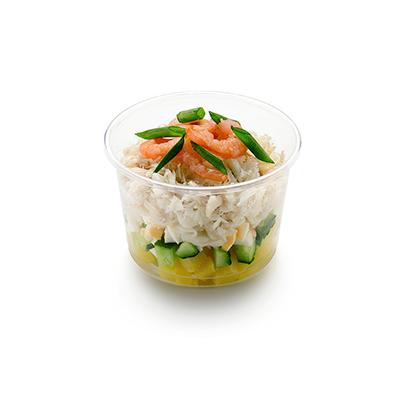 Микс из морепродуктов в пикантном соусе