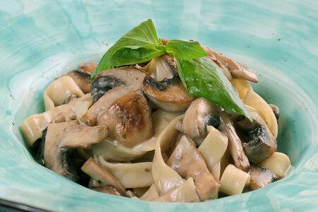 Паста Феттуччине с грибами