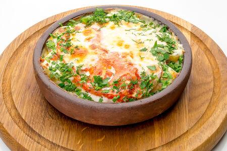 Запеченная говядина под сыром