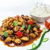 Фото к позиции меню Курица Кунг Пао