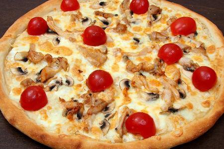 Пицца Нежная на тонком тесте