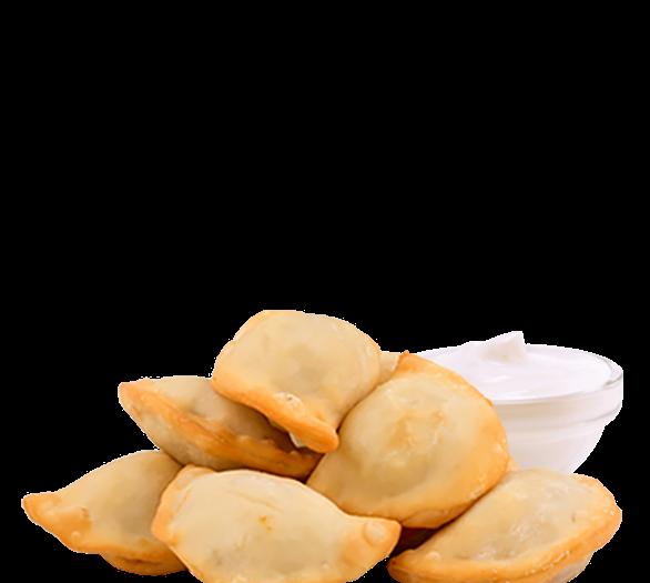 Вареники с картофелем и грибами