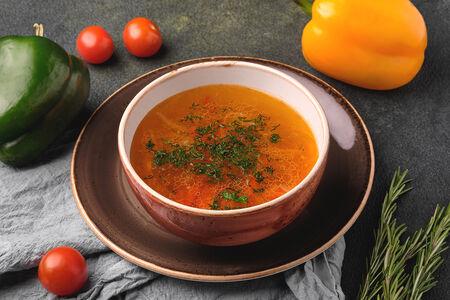 Говяжий суп с фрикадельками