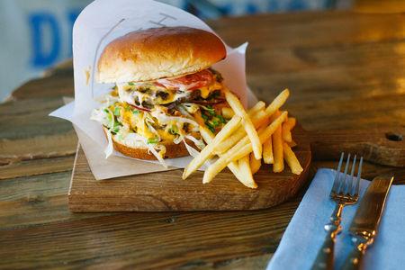 Супер чизбургер