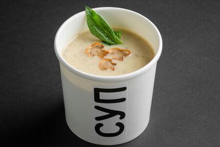 Крем-суп из лесных грибов