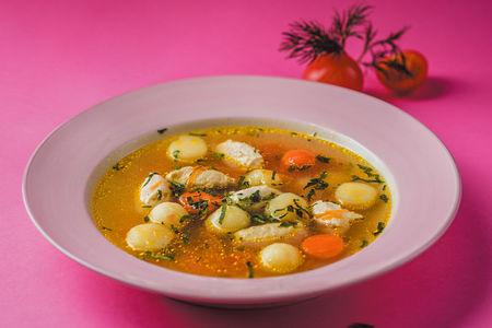Суп-кнели из индейки