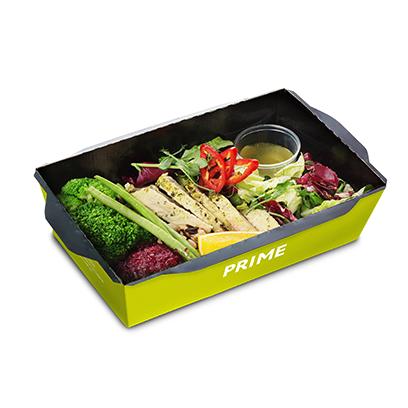 Fresh салат Индейка с овощами и свекольной икрой