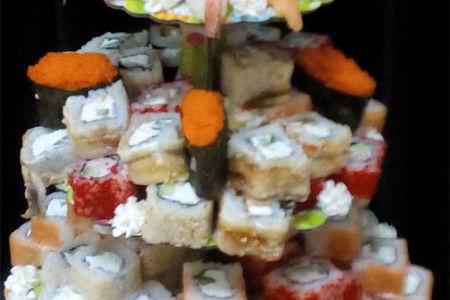 Суши торт №4