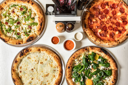 Сет из четырех пицц